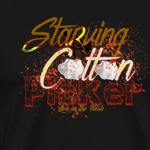 StarvingCottonPicker - Men's Premium T-Shirt
