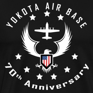 Yokota 70th Anniversary Eagle T - Men's Premium T-Shirt
