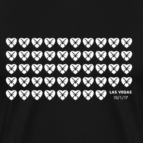 Cross my heart. - Men's Premium T-Shirt