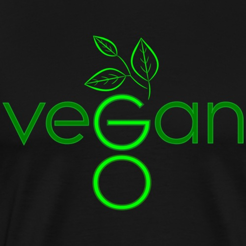 Go Vegan! - Men's Premium T-Shirt