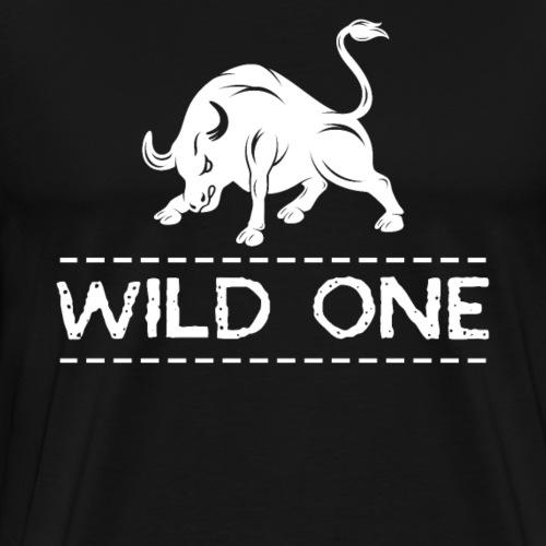 Wild One | Wild Bull - Men's Premium T-Shirt