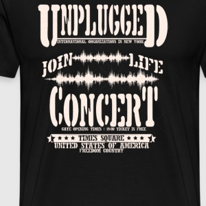Unplugged join life concert - Men's Premium T-Shirt