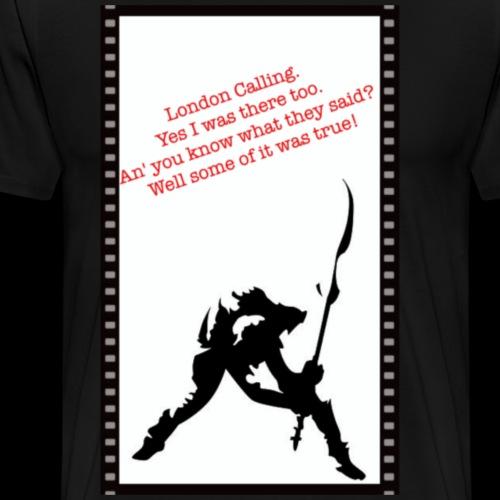 London Calling - Men's Premium T-Shirt