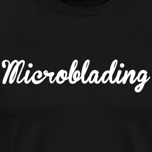 microblading - Men's Premium T-Shirt