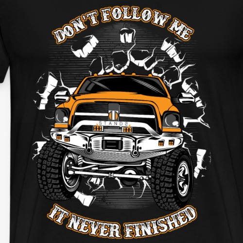 Don t follow me - Men's Premium T-Shirt