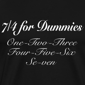 Seven Four For Dummies - Men's Premium T-Shirt