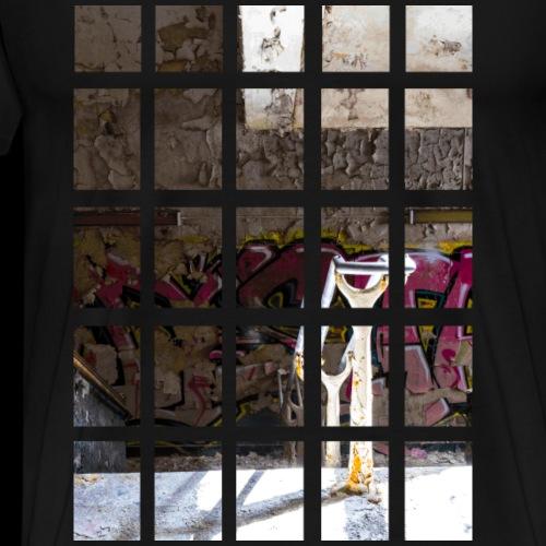 Abandoned staircase - Men's Premium T-Shirt