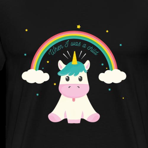 Unicorn Baby - Men's Premium T-Shirt