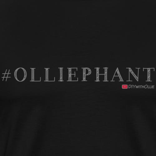 Olliephant Hashtag - Men's Premium T-Shirt