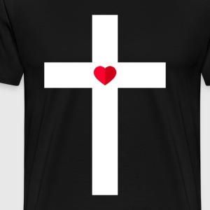 The Cross - Men's Premium T-Shirt