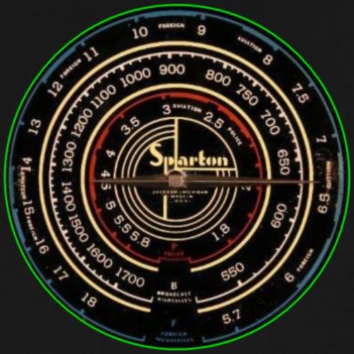 vintage radio - Men's Premium T-Shirt
