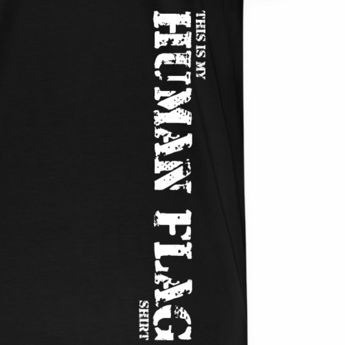 Human Flag L - Men's Premium T-Shirt