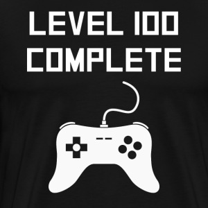 Level 100 Complete Gamer 100th Birthday - Men's Premium T-Shirt