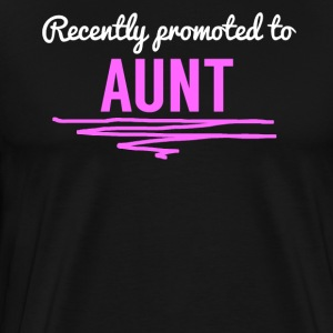 Recently Promoted To Aunt - Men's Premium T-Shirt