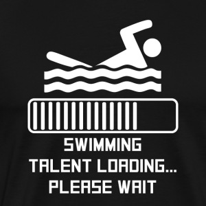 Swimming Talent Loading - Men's Premium T-Shirt
