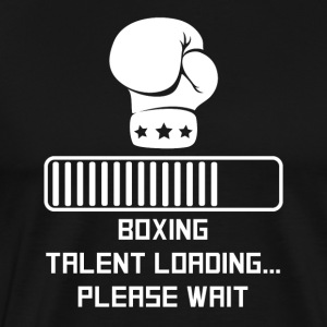 Boxing Talent Loading - Men's Premium T-Shirt