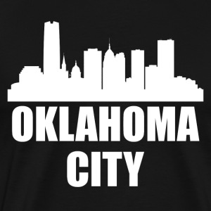 Oklahoma City OK Skyline - Men's Premium T-Shirt