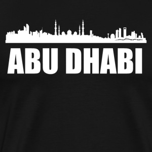 Abu Dhabi Skyline - Men's Premium T-Shirt