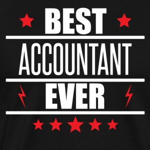 Best Accountant Ever - Men's Premium T-Shirt