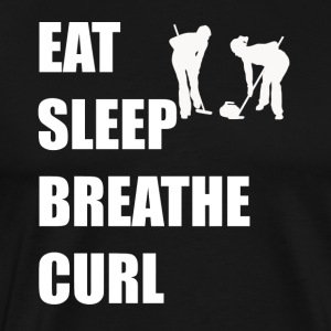 Eat Sleep Breathe Curl - Men's Premium T-Shirt
