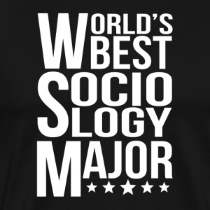 World's Best Sociology Major - Men's Premium T-Shirt