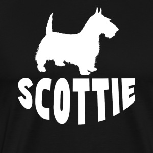 Scottie Silhouette - Men's Premium T-Shirt