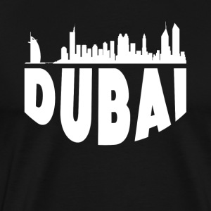 Dubai United Arab Emirates Cityscape Skyline - Men's Premium T-Shirt