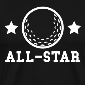 Golf All Star - Men's Premium T-Shirt