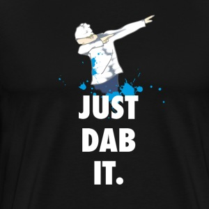 dab just dabbing football touchdown mooving dance - Men's Premium T-Shirt