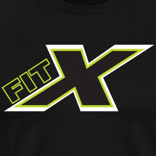 FITx Trainer 002 - Green/Black - Men's Premium T-Shirt
