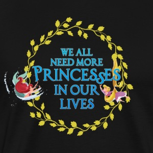 More Princesses #2 - Men's Premium T-Shirt
