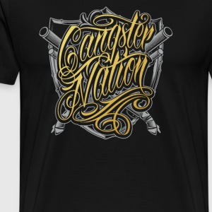 Gangster nation - Men's Premium T-Shirt