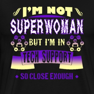 Superwoman Tech Support Shirt - Men's Premium T-Shirt