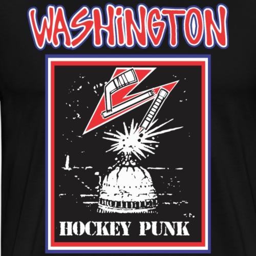 Washington Hockey Punk - Men's Premium T-Shirt