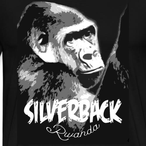 Rwanda Silverback Male Gorilla - Men's Premium T-Shirt