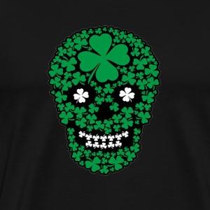 St Patricks Day Calavera - Men's Premium T-Shirt