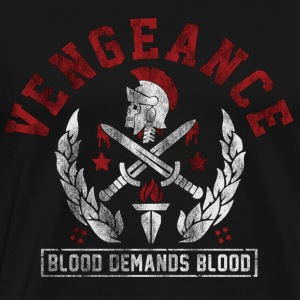 Vengeance Blood Picture - Men's Premium T-Shirt