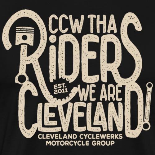Tha Riders Thumper Wrencher design - Men's Premium T-Shirt