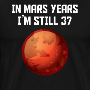 In Mars Years I'm Still 37 70th Birthday - Men's Premium T-Shirt
