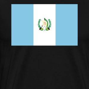Flag of Guatemala Cool Guatemalan Flag - Men's Premium T-Shirt