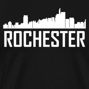 Rochester Michigan City Skyline - Men's Premium T-Shirt