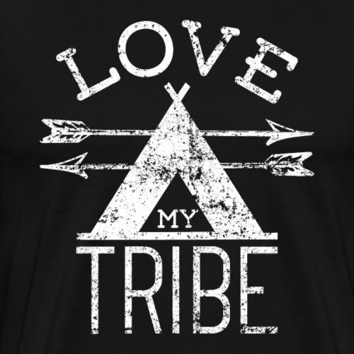 Love My Tribe - Men's Premium T-Shirt
