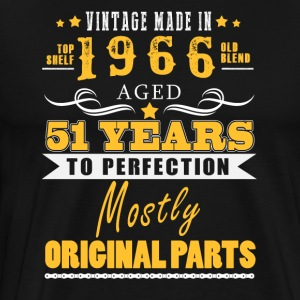Vintage made in 1966 - 51 years to perfection (v.2017) - Men's Premium T-Shirt