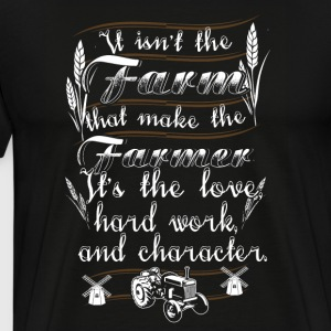 It isn t the Farmer T Shirts - Men's Premium T-Shirt