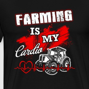 Farming is my lardio T Shirts - Men's Premium T-Shirt