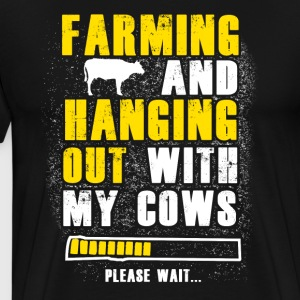 Farming and hanging T Shirts - Men's Premium T-Shirt