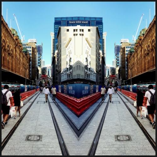 Cuero x NY Life in Parallel Sydney CBD - Men's Premium T-Shirt
