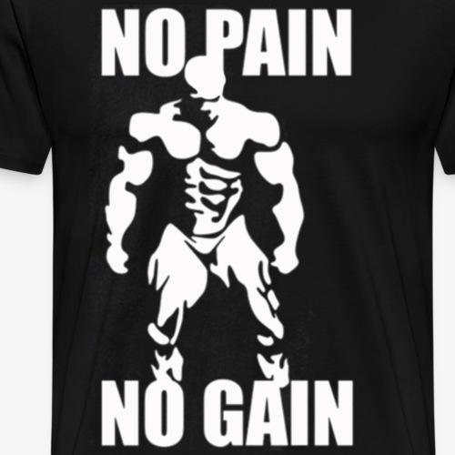 no pain - Men's Premium T-Shirt