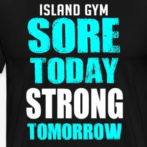 Sore Today color IG - Men's Premium T-Shirt