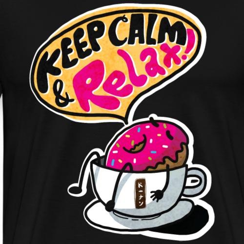 Keep Calm And Relax T-Shirt - Men's Premium T-Shirt